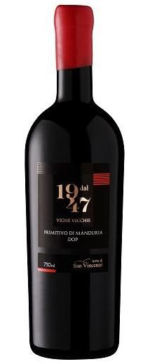 VINHO DAL 1947 PRIMITIVO MANDURIA - 750ML