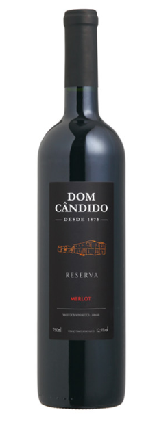 VINHO DOM CÂNDIDO MERLOT RESERVA 2015 - 750ML