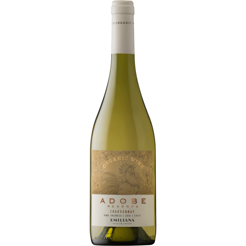 VINHO EMILIANA ADOBE CHARDONNAY - 750ML