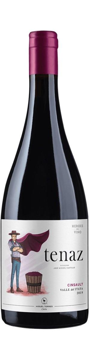 Vinho Heros Del Vino Tenaz Cinsault Tinto - 750ML