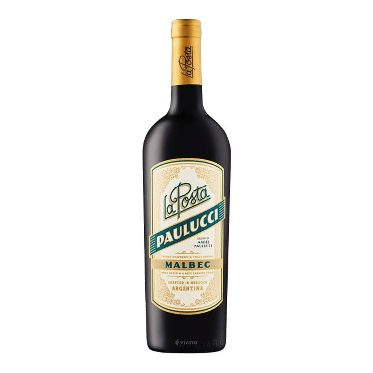 VINHO LA POSTA PAULICCI MALBEC - 750ML