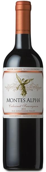 VINHO MONTES ALPHA CABERNET SAUVIGNON - 750ML