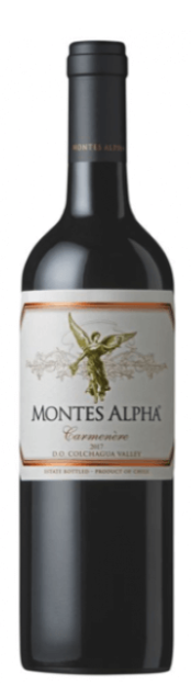 VINHO MONTES ALPHA CARMENERE - 750ML
