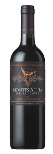 VINHO MONTES ALPHA SPECIAL CUVEE CABERNET SAUVIGNON - 750ML