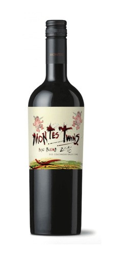 VINHO MONTES TWINS RED BLEND - 750ML
