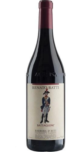 VINHO RENATO RATTI BARBERA D'ASTI BATTAGLIONE  750ML - 2015