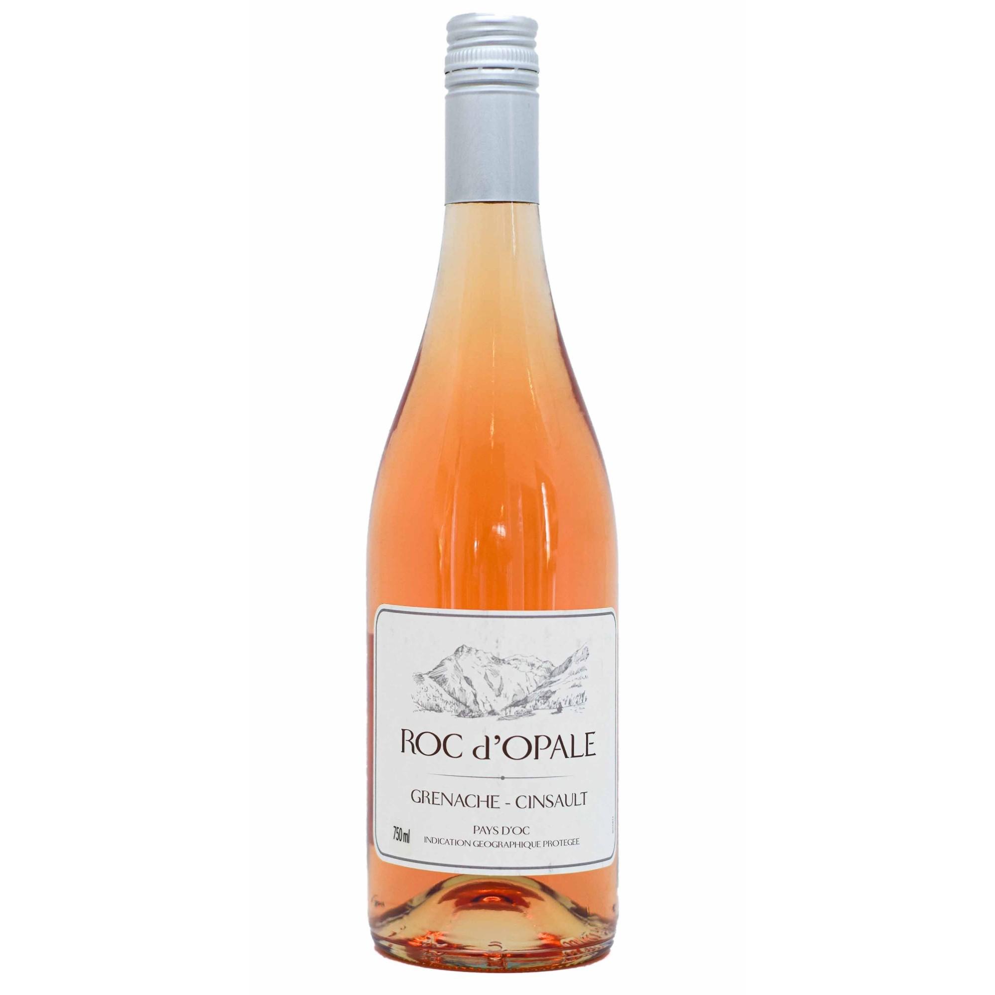 VINHO ROSÉ ROC D'OPALE GRENACHE E CINSAULT - 750ML