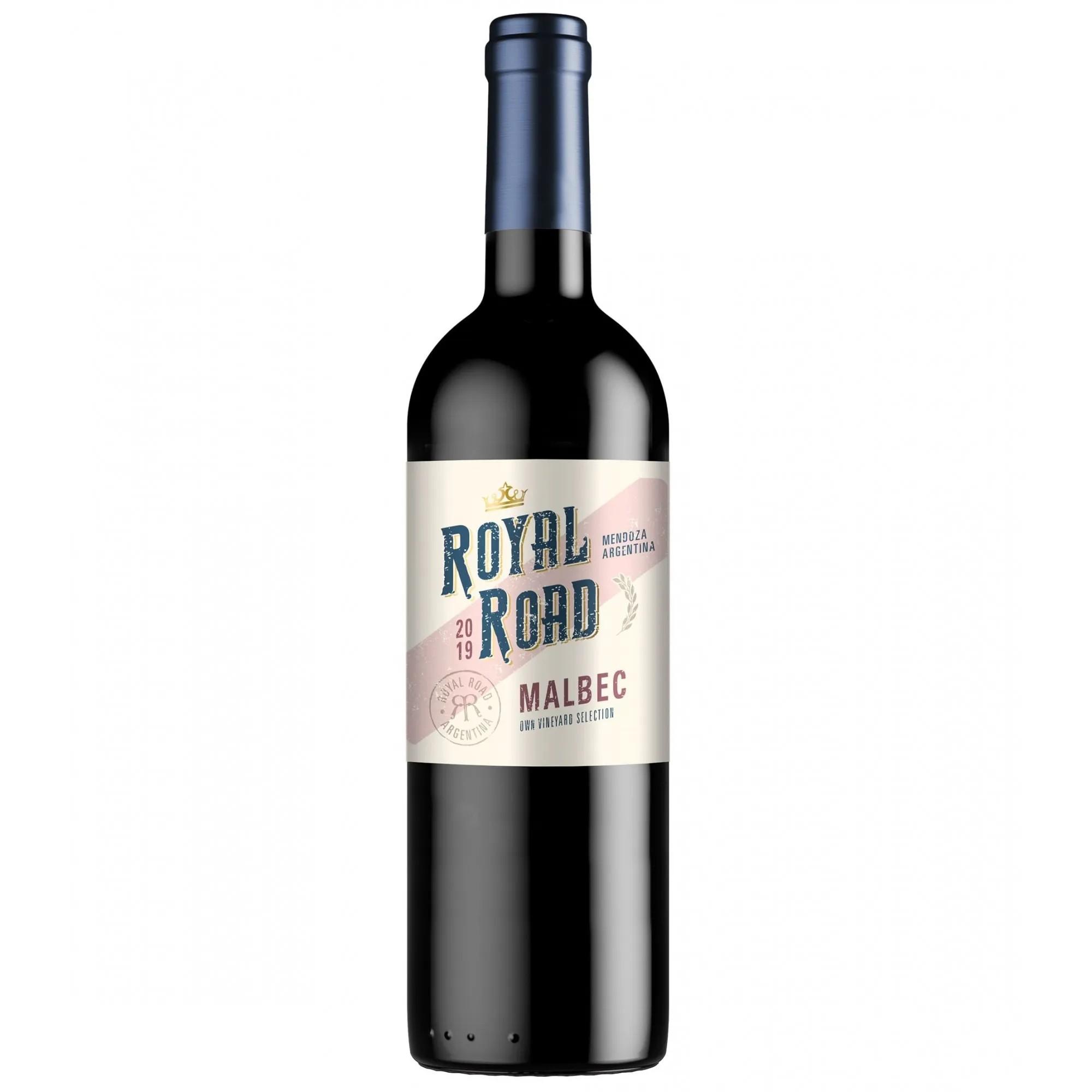 VINHO ROYAL ROAD MALBEC - 750ML