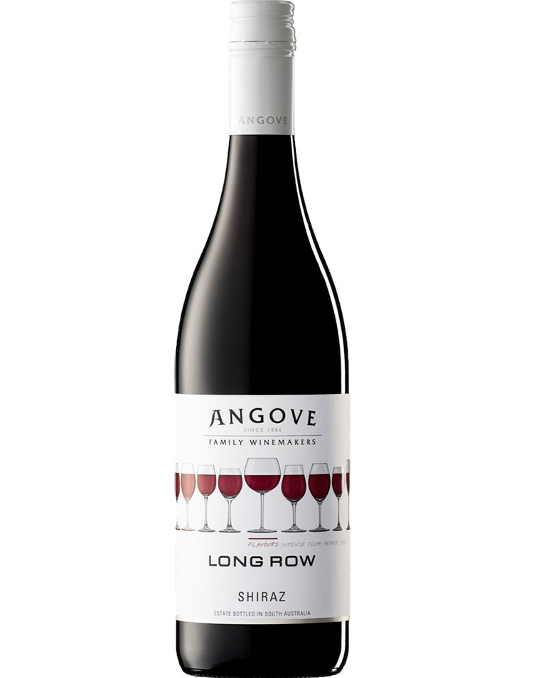 VINHO TINTO ANGOVE LONG ROW SHIRAZ - 750ML