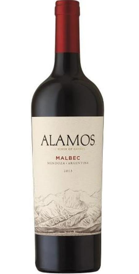 VINHOS ALAMOS MALBEC - 750ML