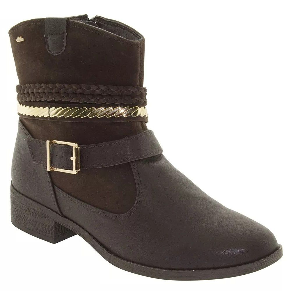 Bota Feminina Dakota B8412I - Cafe