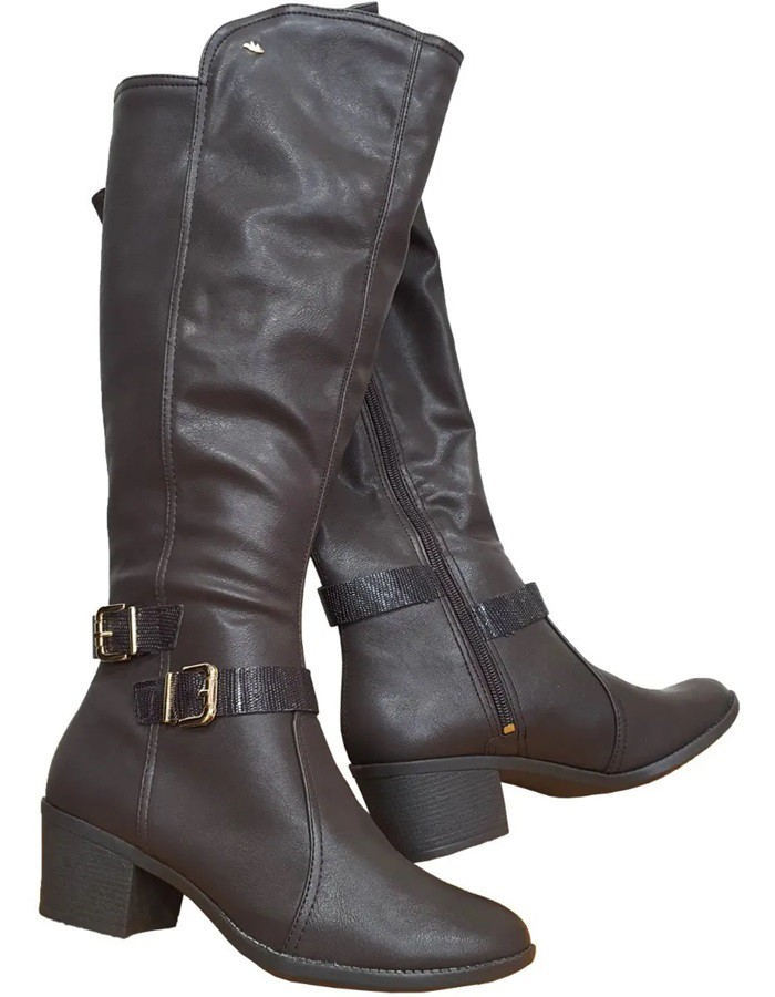 Bota Feminina Dakota B9553 - Cafe