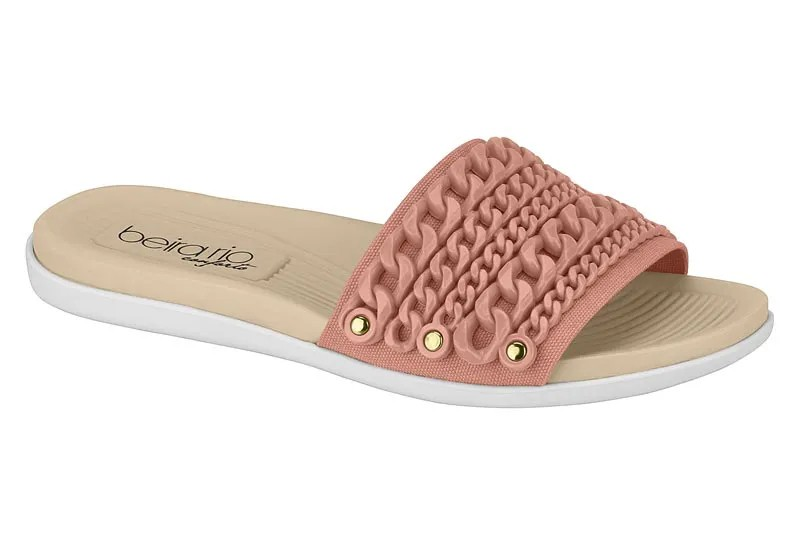 Chinelo feminina Beira Rio 8360.229 - Light Blush