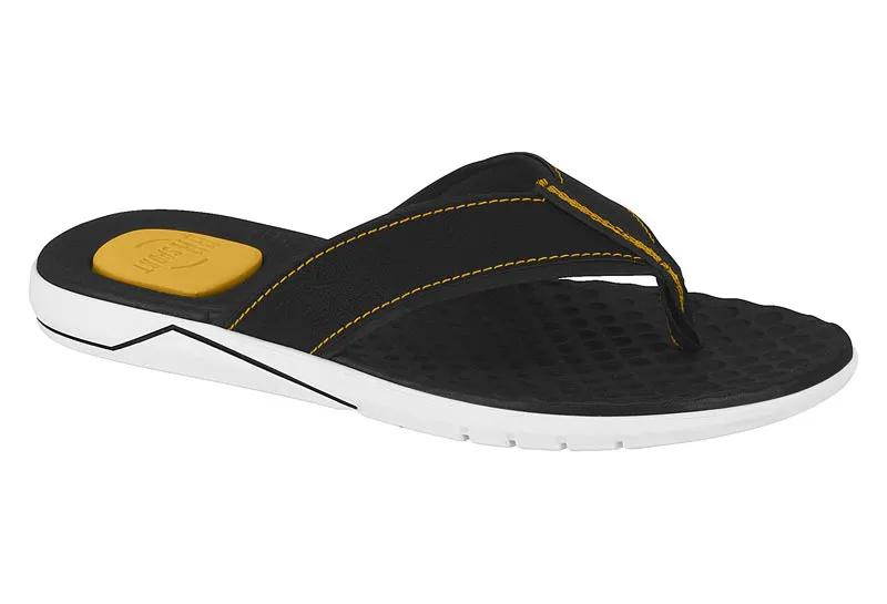 Chinelo Masculino Br Sport 2252.100 - Preto / Amarelo