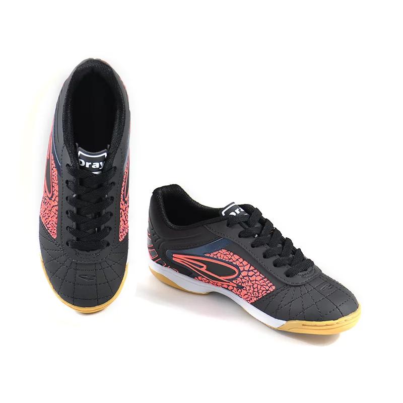 Chuteira Futsal Dray 368 - Preto / Goiaba