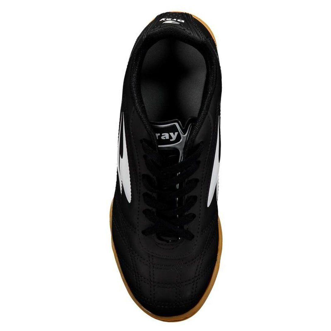 Chuteira Futsal Dray 802 - Preto / Branco