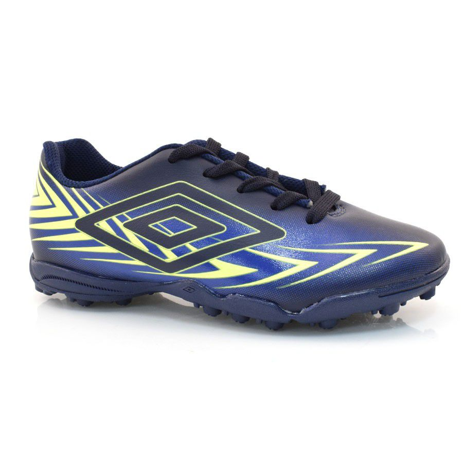 Chuteira Adulto Umbro Speed III Society - Marinho / Limao