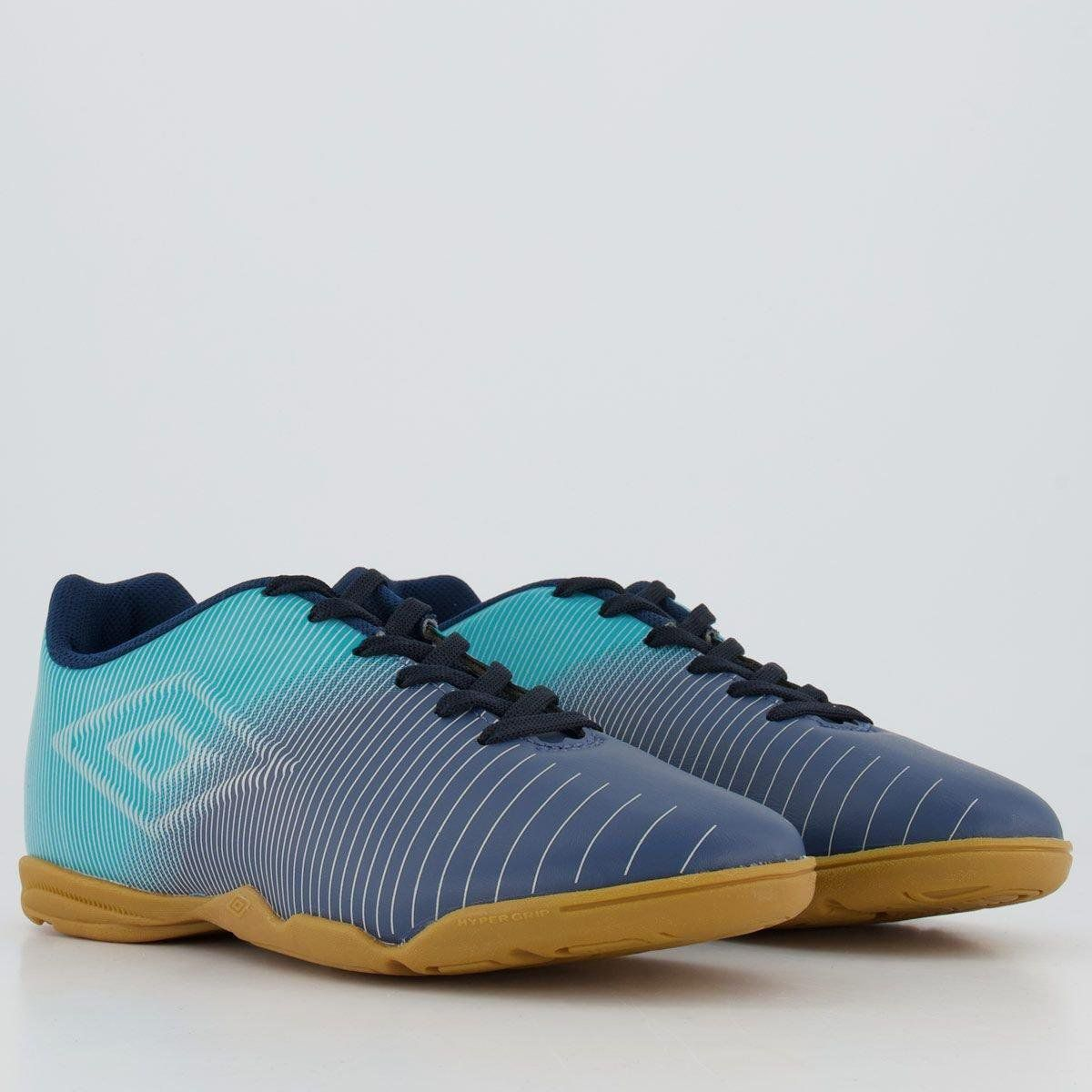 Chuteira Adulto Umbro Vibe Futsal - Mar / Azul