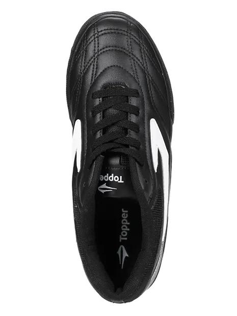 Chuteira Futsal Topper Dominator 3 - Preto