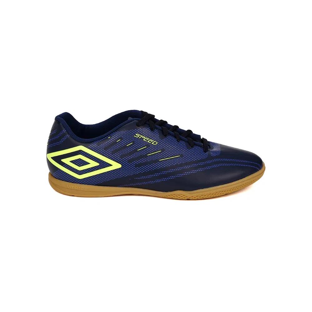 Chuteira Futsal Umbro Speed IV - Marinho