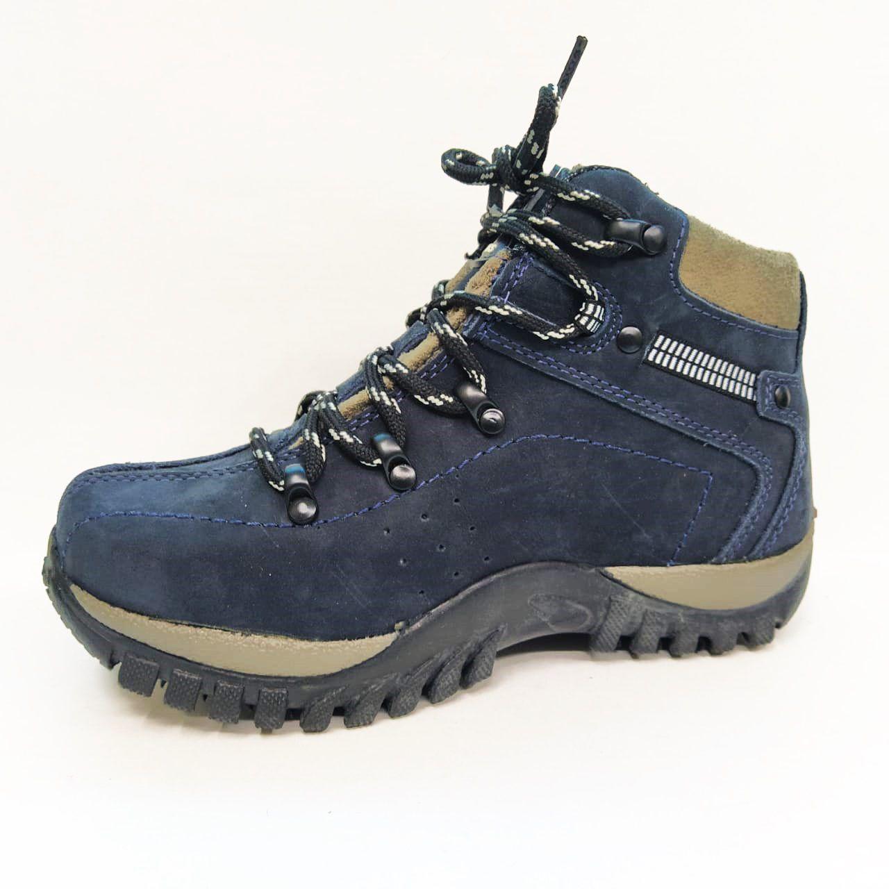 Coturno Infantil Masculino Bell Boots 720  - Marinho