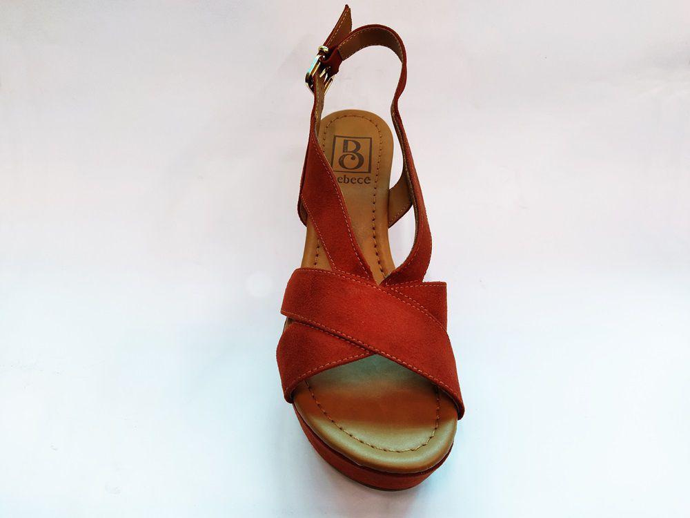 Sandalia Feminina Bebece 5123-824 -  Argila