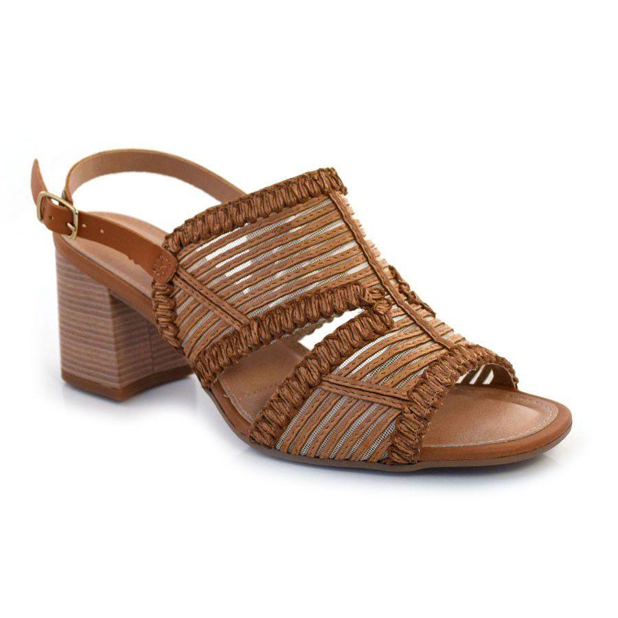 Sandalia Dakota Z5142 - Caramelo