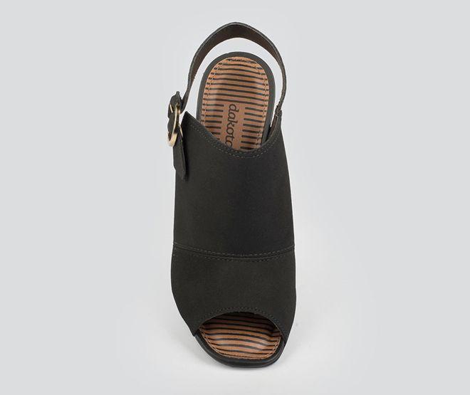 Sandalia Feminina Dakota Z5181 - Preto