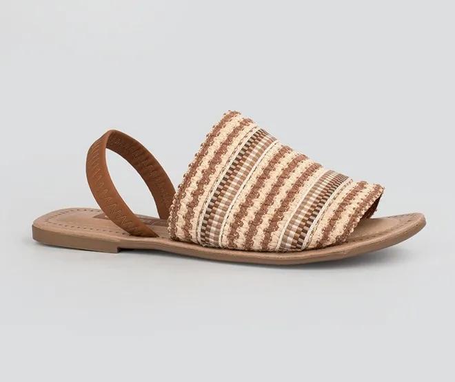 Sandália feminina Dakota Z5312 - Bege