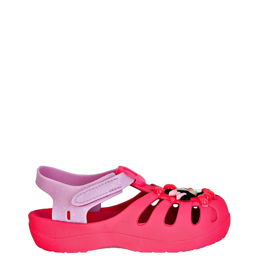 Sandalia infantil feminina Disney Minnie 22075 - Rosa
