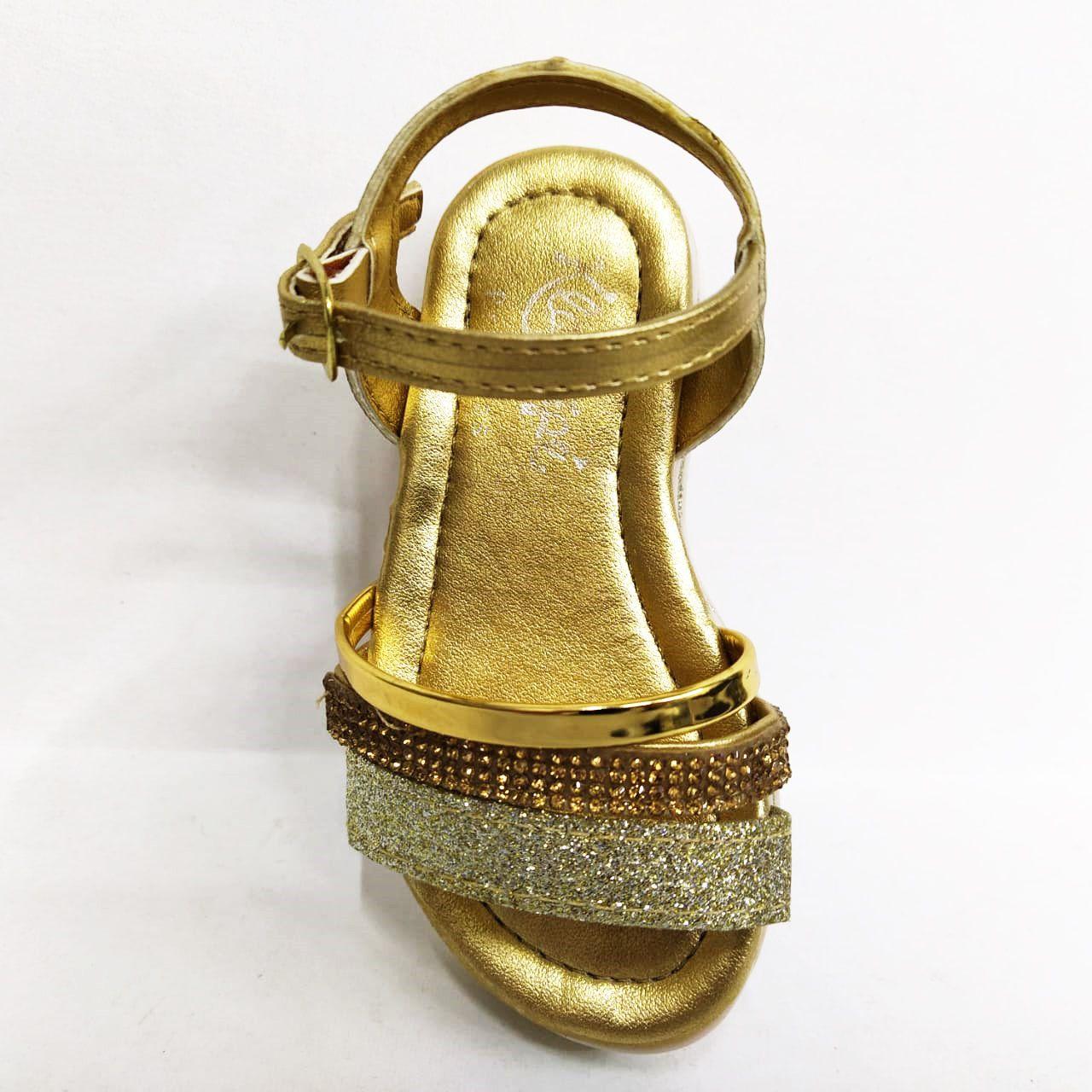 Sandália Infantil Feminina Klassipe 146.103.474 - Ouro
