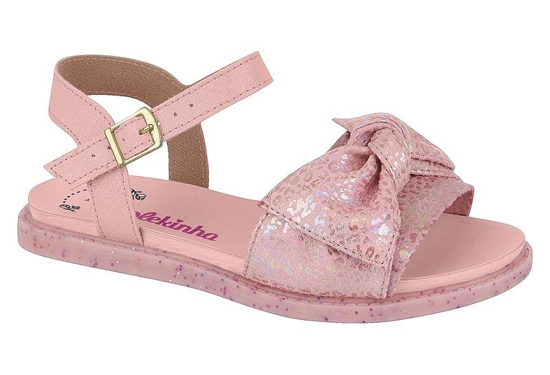 Sandalia Infantil Feminina Molekinha 2312.626 - Rosa