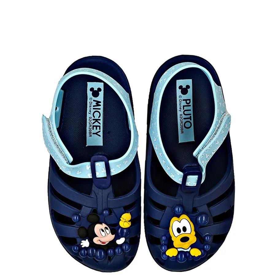 Sandália infantil masculina Disney Mickey 22075 Sunny - Azul