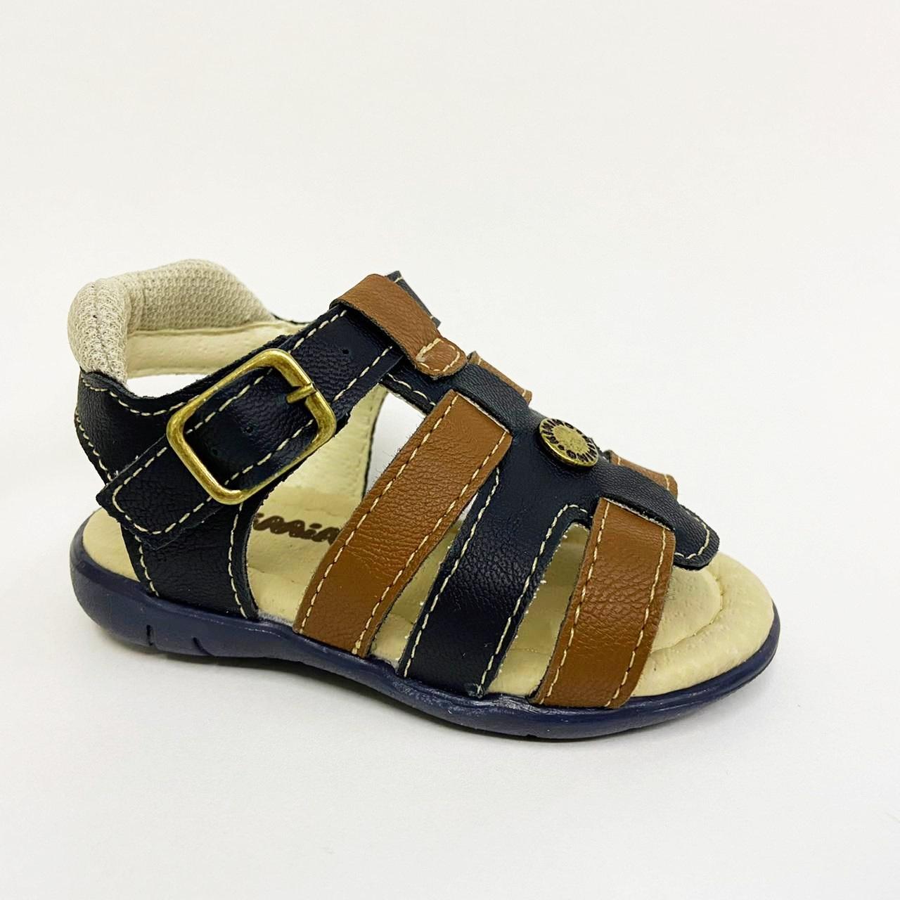 Sandalia Infantil Masculina Kimimo 265-137 - Marinho