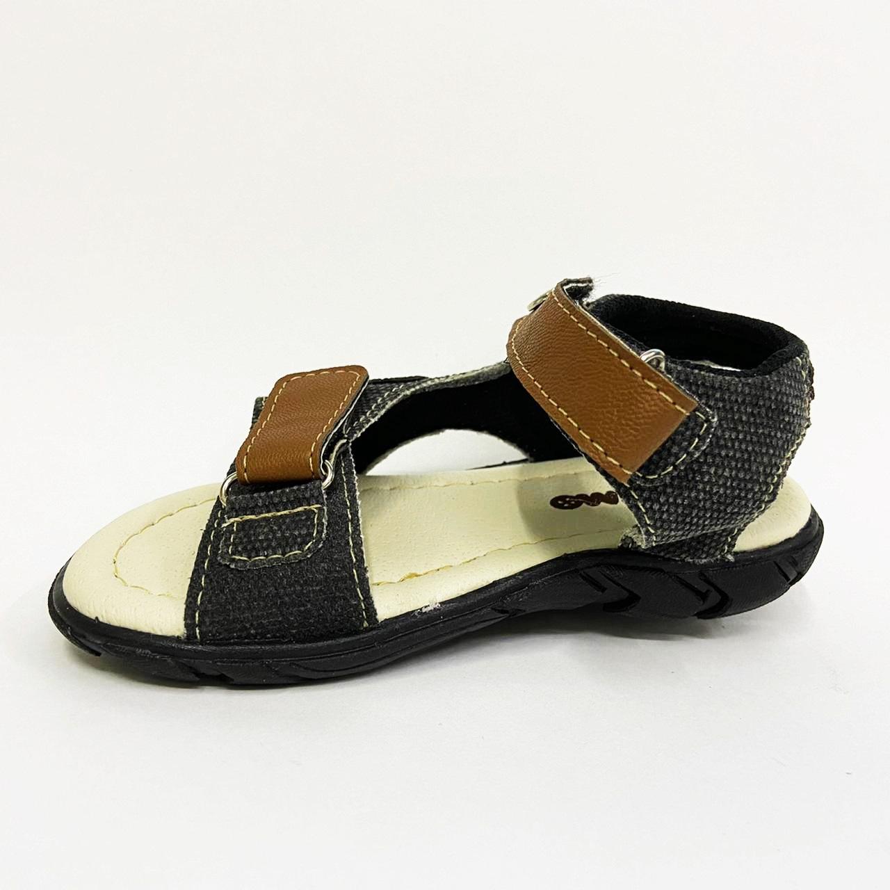 Sandalia Infantil Masculina Kimimo 4012-02 - Preto