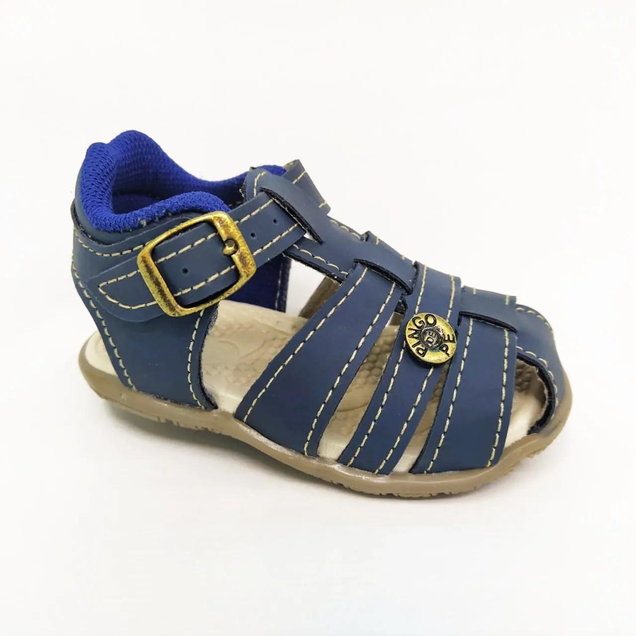 Sandália infantil Pingo de Pé 1392-011 - Marinho