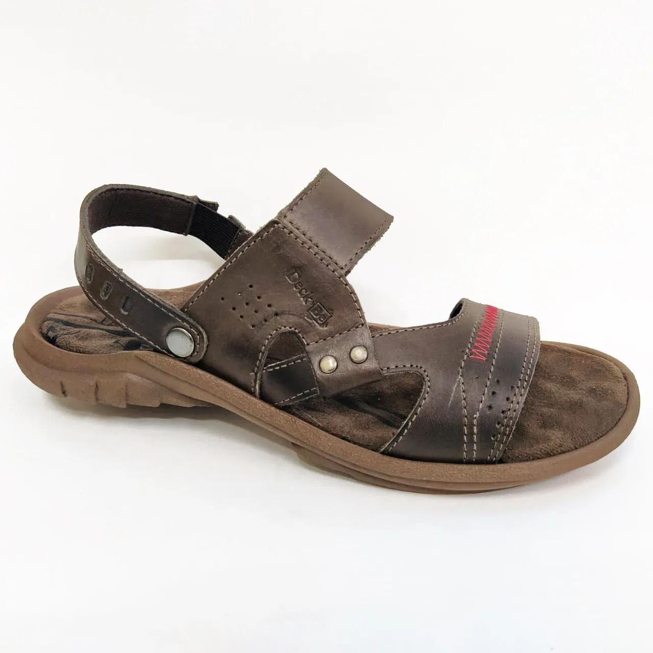 Sandália masculina Deck Be Shoes 2000 - Chocolate