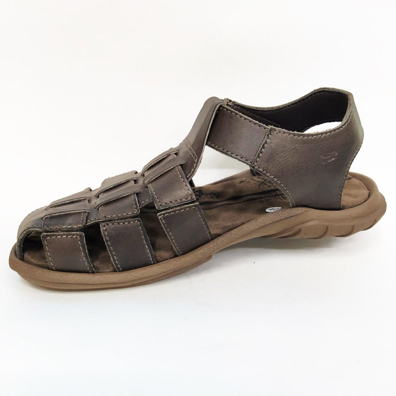 Sandália masculina Deck Be Shoes 6500 - Chocolate