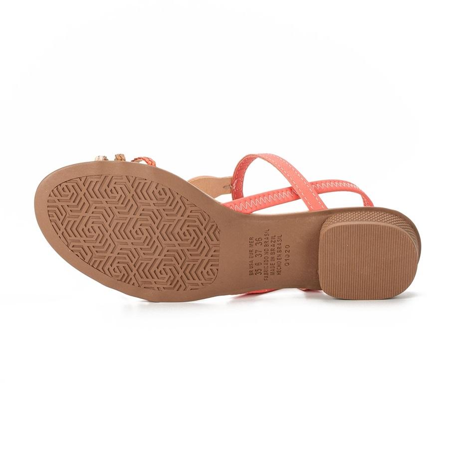 Sandalia Mississipi Q5072 - Coral