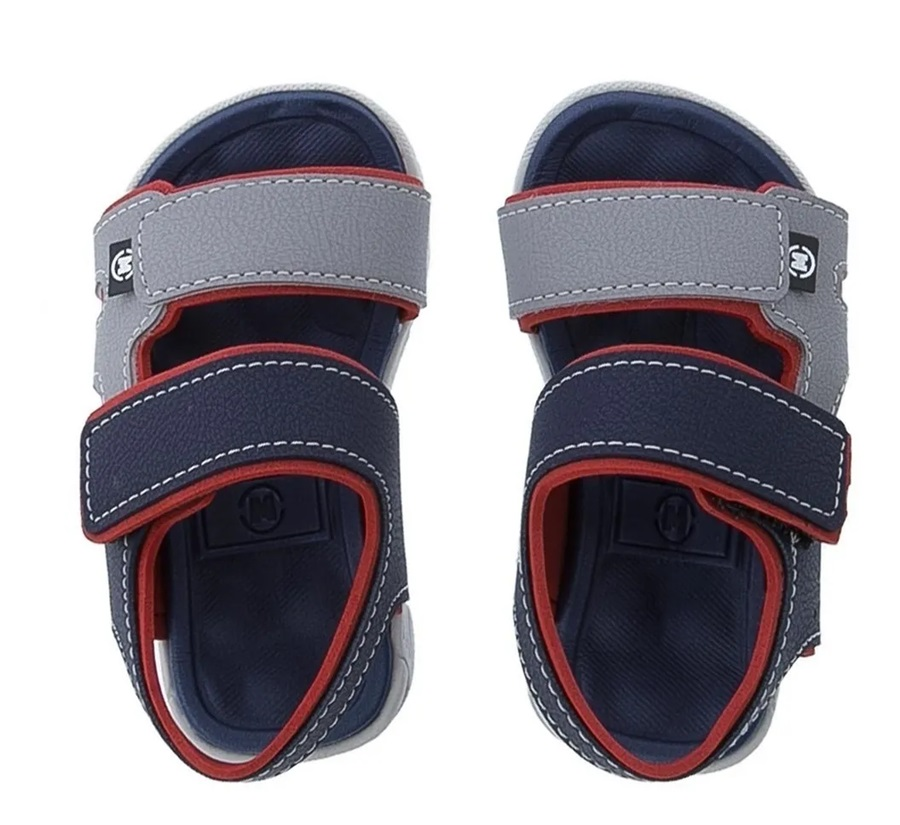 Sandalia Papete Infantil Masculina Molekinho 2135.137 - Marinho