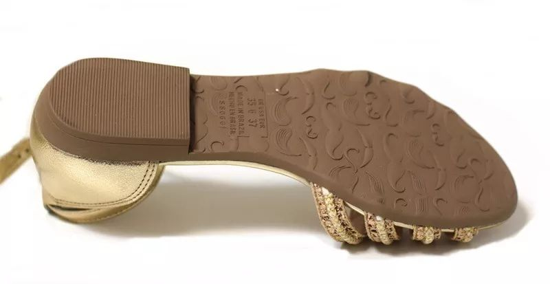 Sandalia Rasteira Dakota Z3643 - Ouro