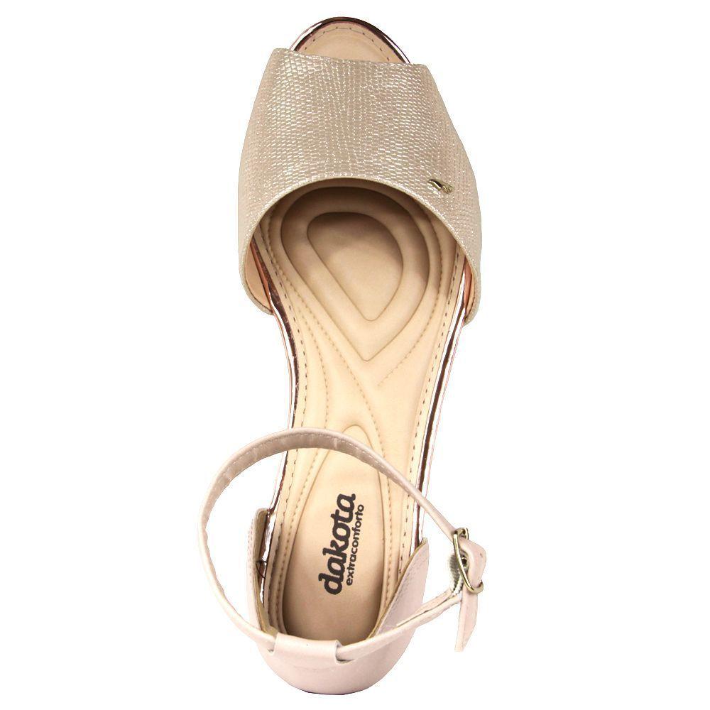 Sandalia Rasteira Dakota Z5691 - Nude