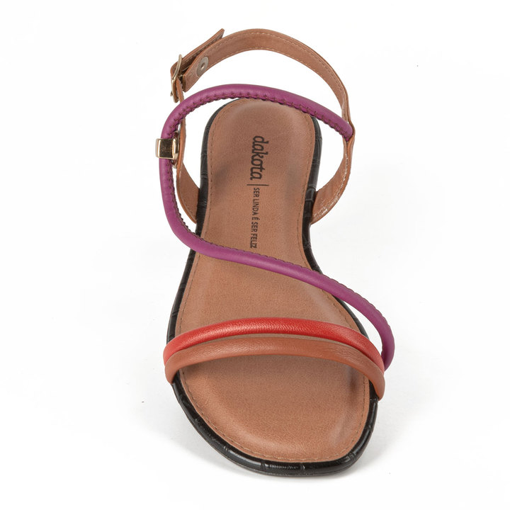 Sandalia Rasteira Dakota Z8112 - Mascavo