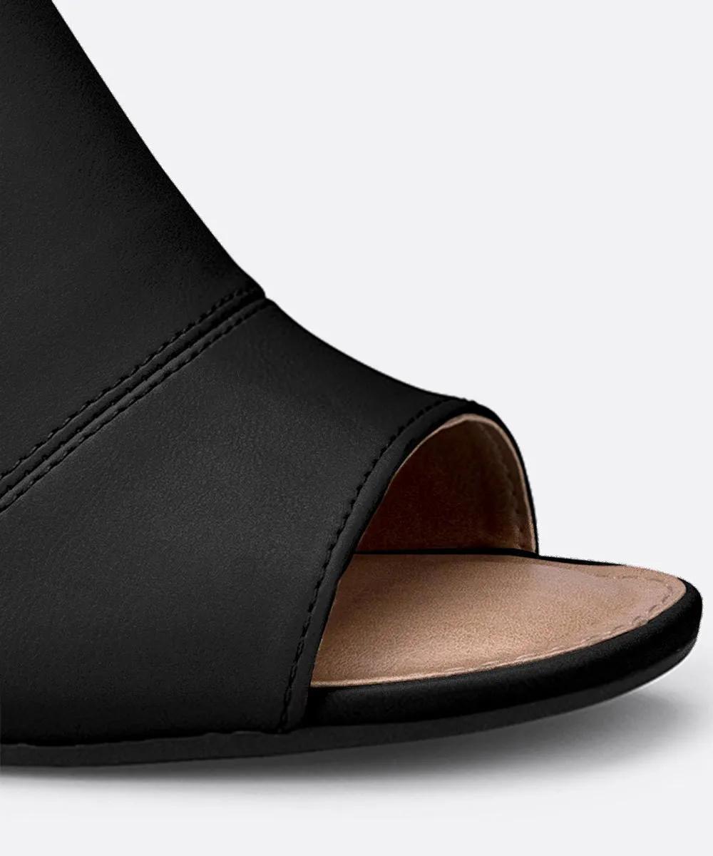 Sandalia Salto Grosso Dakota Z6413 - Preto
