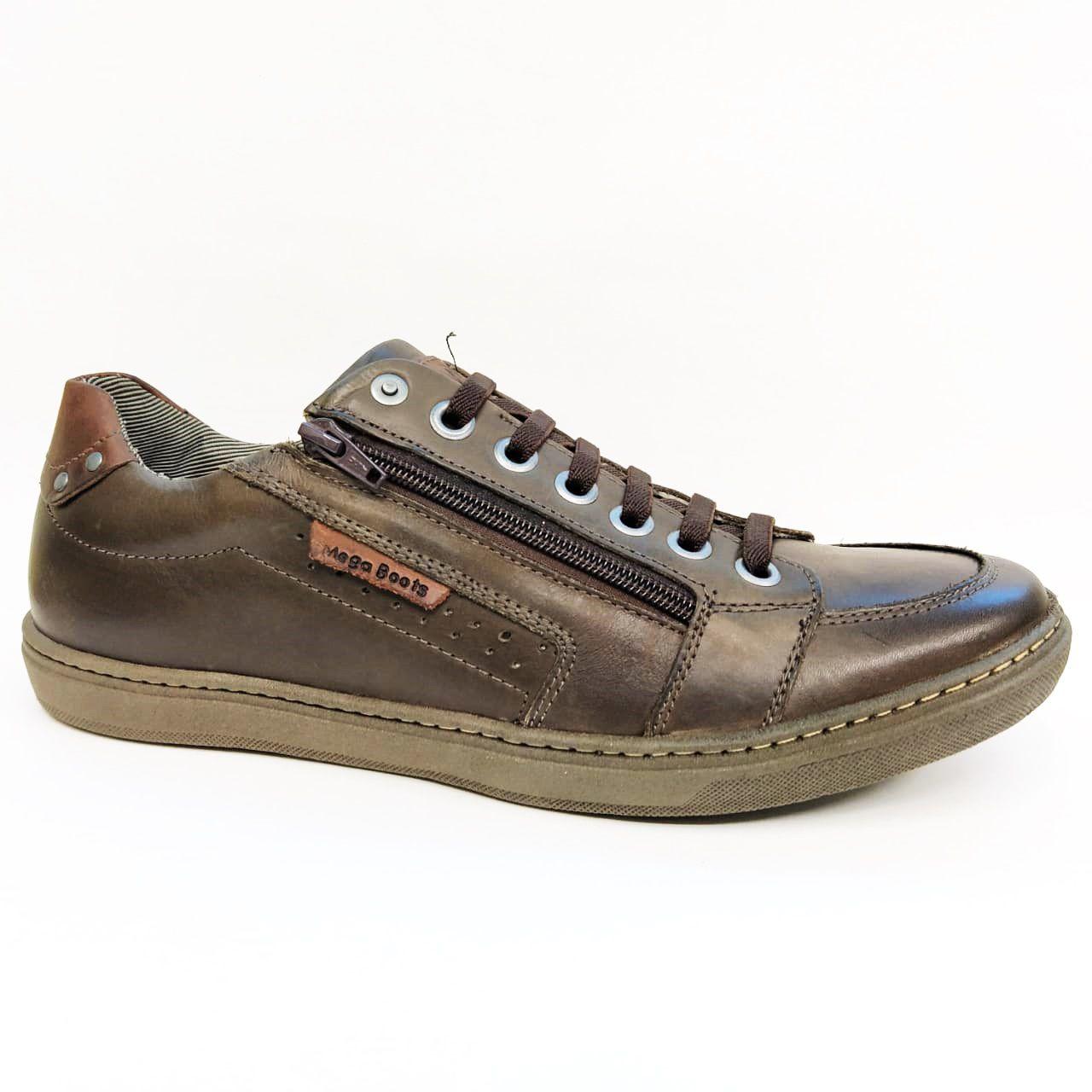 Sapatênis Masculino Mega Boots 15011 - Café