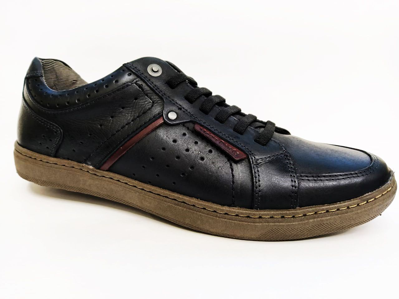 Sapatênis Masculino Mega Boots 15032 - Preto/Bordo