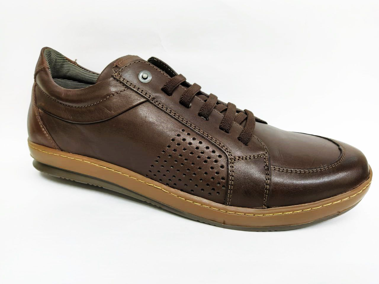 Sapatenis Masculino Mega Boots 15034 - Café