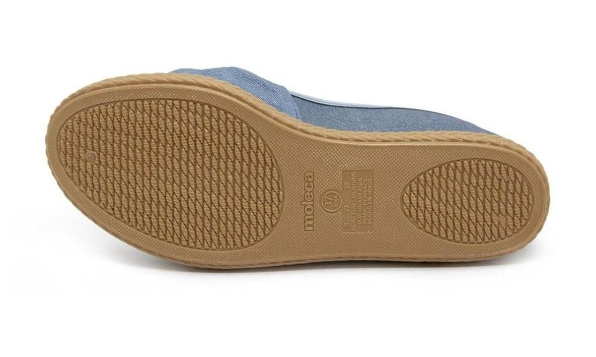Sapatilha Moleca 5287.265 - Jeans