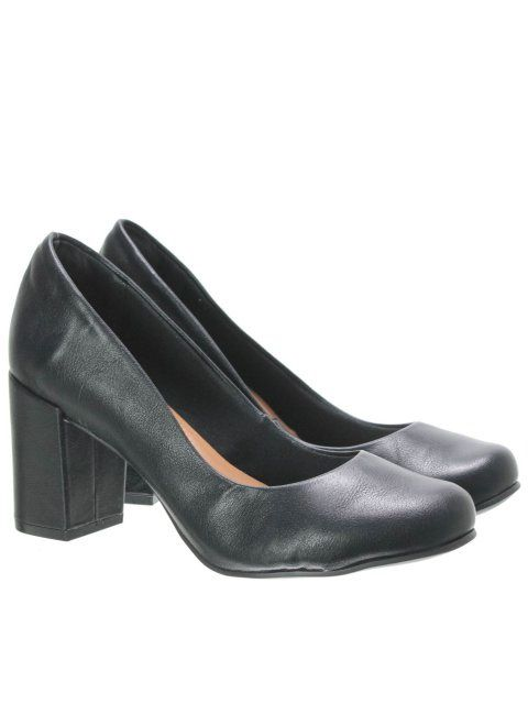 Sapato Feminino Bebecê 6514-221 - Preto