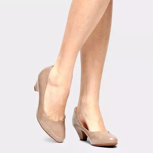 Sapato Modare 7005.100 - Bege Verniz